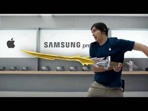 Iklan Samsung Yang Menyindir Apple Secara Terang-Terangan